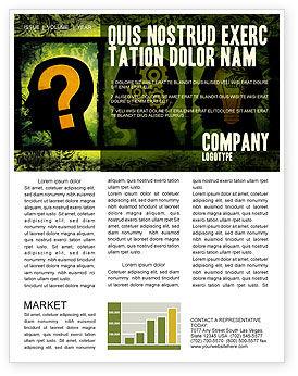 Business Concepts: Modello Newsletter - Processo di pensiero #05809
