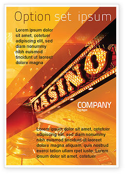 Careers/Industry: Casino Ad Template #05811