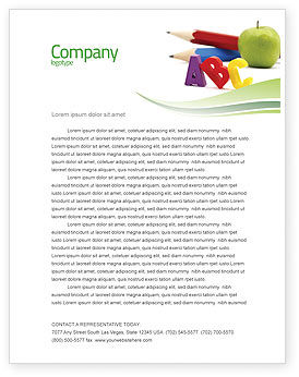 Education & Training: Start Education Letterhead Template #05823