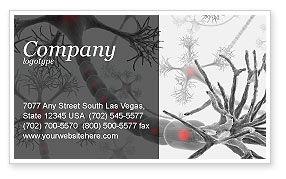 Neural Nodes Business Card Template, 05826, Medical — PoweredTemplate.com