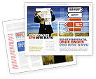 Business Concepts: Choosing Root Brochure Template #05832