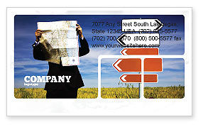 Choosing Root Business Card Template