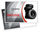 Careers/Industry: Tires Postcard Template #05850