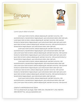 Education & Training: School Math Letterhead Template #05855