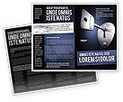Business Concepts: Key Brochure Template #05857