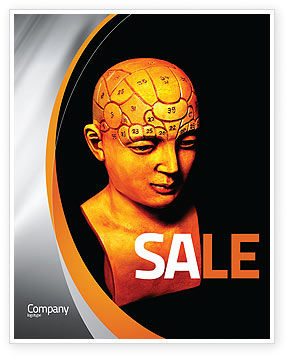 Psychology Model Sale Poster Template, 05863, Medical — PoweredTemplate.com