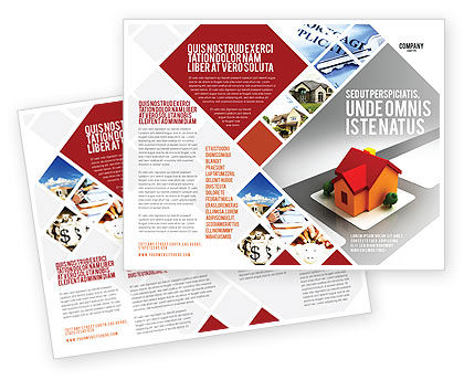 Construction: Planning For Building Suburb Brochure Template #05866
