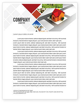 Planning For Building Suburb Letterhead Template, 05866, Construction — PoweredTemplate.com