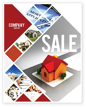 Construction: Planning For Building Suburb Sale Poster Template #05866