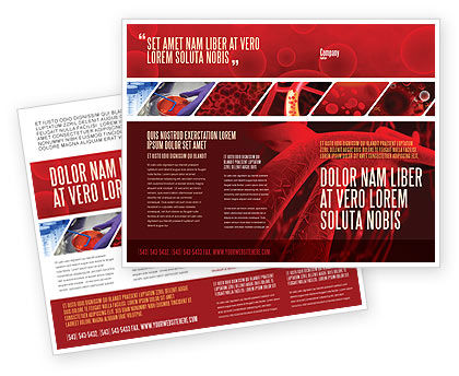 Arteries Brochure Template