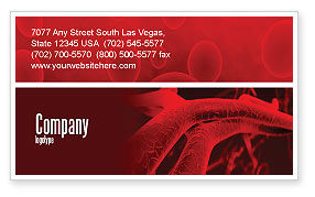 Arteries Business Card Template