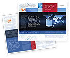Consulting: Stock Market Jumping Rate Brochure Template #05883
