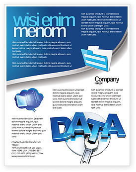 data safety flyer template background in microsoft word publisher
