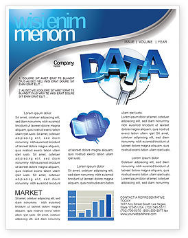 Data Safety Newsletter Template For Microsoft Word Adobe Indesign