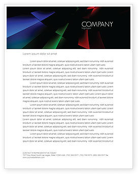 Abstract/Textures: 3D Abstract Letterhead Template #05904