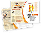 Business Concepts: Handshaking Brochure Template #05920