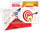 Consulting: House Target Brochure Template #05927