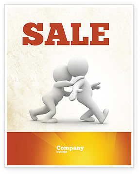Consulting: Persuasion Sale Poster Template #05930