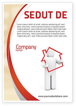 Consulting: House Schuld Advertentie Template #05934