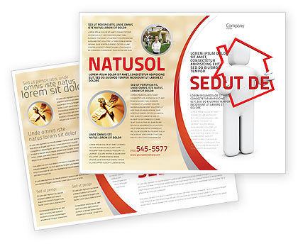 Consulting: House Schuld Brochure Template #05934