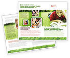 Education & Training: Modello Brochure - Lettura su vacanze estive #05977