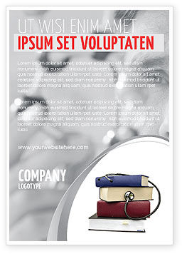 Medical: Medische Handboeken Advertentie Template #05985