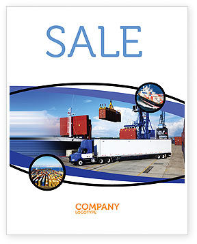 Seaport Sale Poster Template