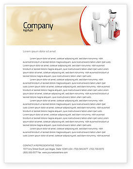 Patient and doctor letterhead template layout for microsoft word patient and doctor letterhead template 06021 medical poweredtemplate spiritdancerdesigns Gallery