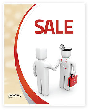 Patient and Doctor Sale Poster Template