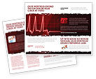Medical: Heart Rhythm Brochure Template #06036
