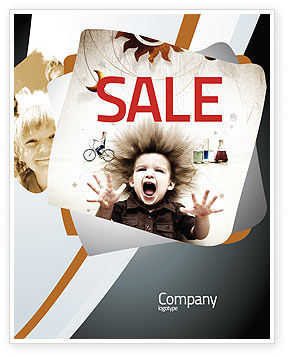 Education & Training: Kids and Science Sale Poster Template #06059