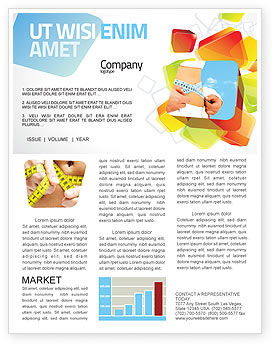 Sports: Slimming Newsletter Template #06061