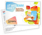 Sports: Slimming Postcard Template #06061