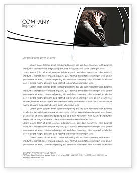Depression Letterhead Template