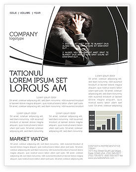 Medical: Depression Newsletter Template #06062