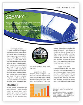 Construction: House Plan Newsletter Template #06085