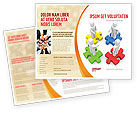 Business Concepts: Working Relationship Brochure Template #06096