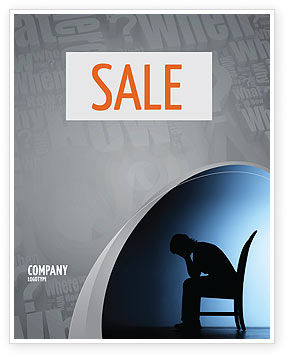 People: Mourning Sale Poster Template #06116