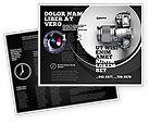 Careers/Industry: Digital Photo Camera Brochure Template #06121