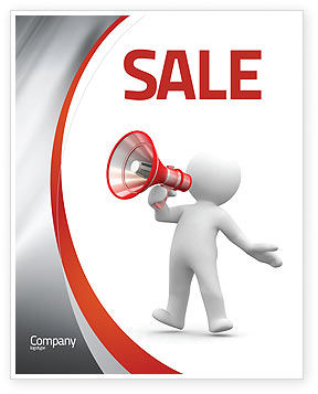 Public Speaker Sale Poster Template in Microsoft Word, Publisher ...