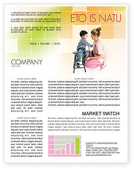 Medical: Paediatrics Newsletter Template #06125