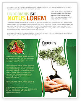 Nature & Environment: Growth Flyer Template #06130