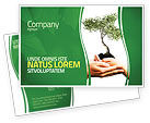 Nature & Environment: Growth Postcard Template #06130