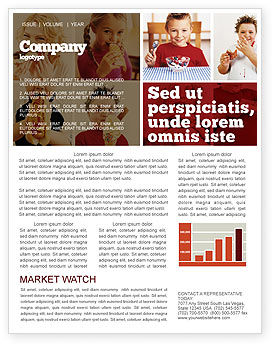Medical: Sweet Snacks Newsletter Template #06170