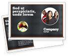 Education & Training: Blackboard Postcard Template #06184
