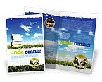 Education & Training: Book Pile Brochure Template #06195
