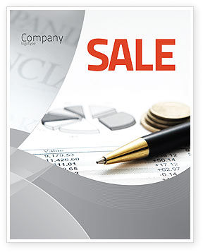 Financial/Accounting: Budgeting Sale Poster Template #06201