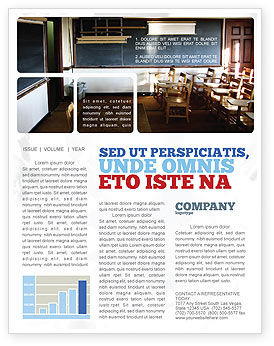 Education & Training: Recitation Room Newsletter Template #06205
