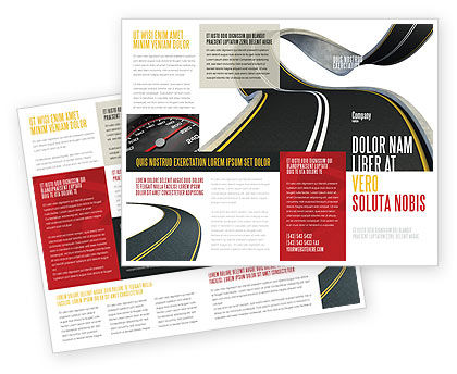 High Way Brochure Template