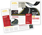 Construction: High Way Brochure Template #06225